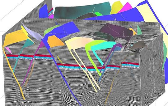 3D seismic fault interpretation