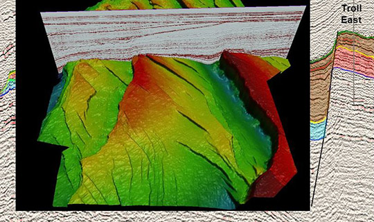 Mapping subsurface structures using seismic data