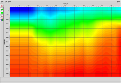 Velocity Color Map